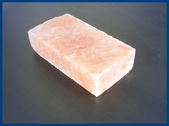 Blocchi di sale himalayano
